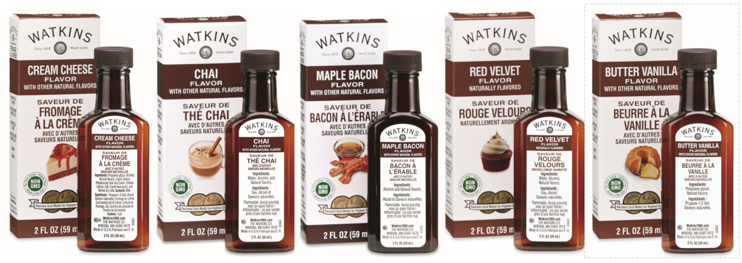 Watkins Product - New Extract Flavours!