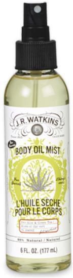 Watkins Product - Aloe & Green Tea Body Oil Mist