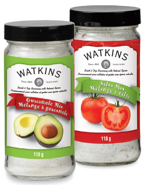 Watkins Product - Snack & Dip Seasonings