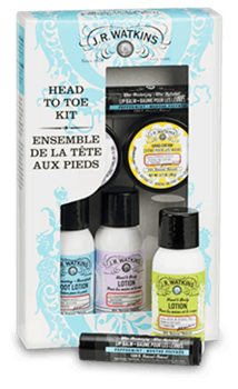 Watkins Product - Travel Kit - Head to Toe