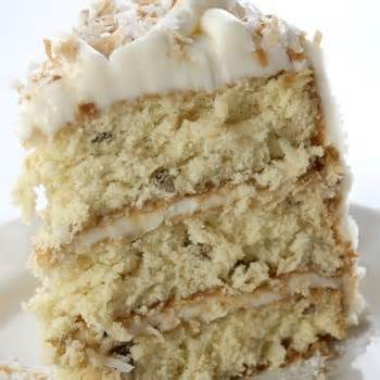 Watkins Recipe - Italian Cream Cake with Cream Cheese Frosting