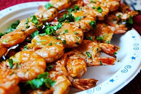 Watkins Recipe - Spicy Grilled Shrimp