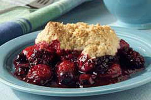 Watkins Recipe - Apple Cranberry Cobbler