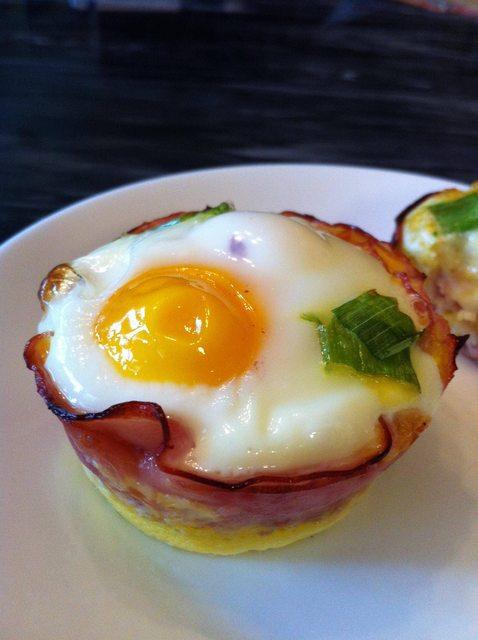Watkins Recipe - Bologna Cupped Eggs