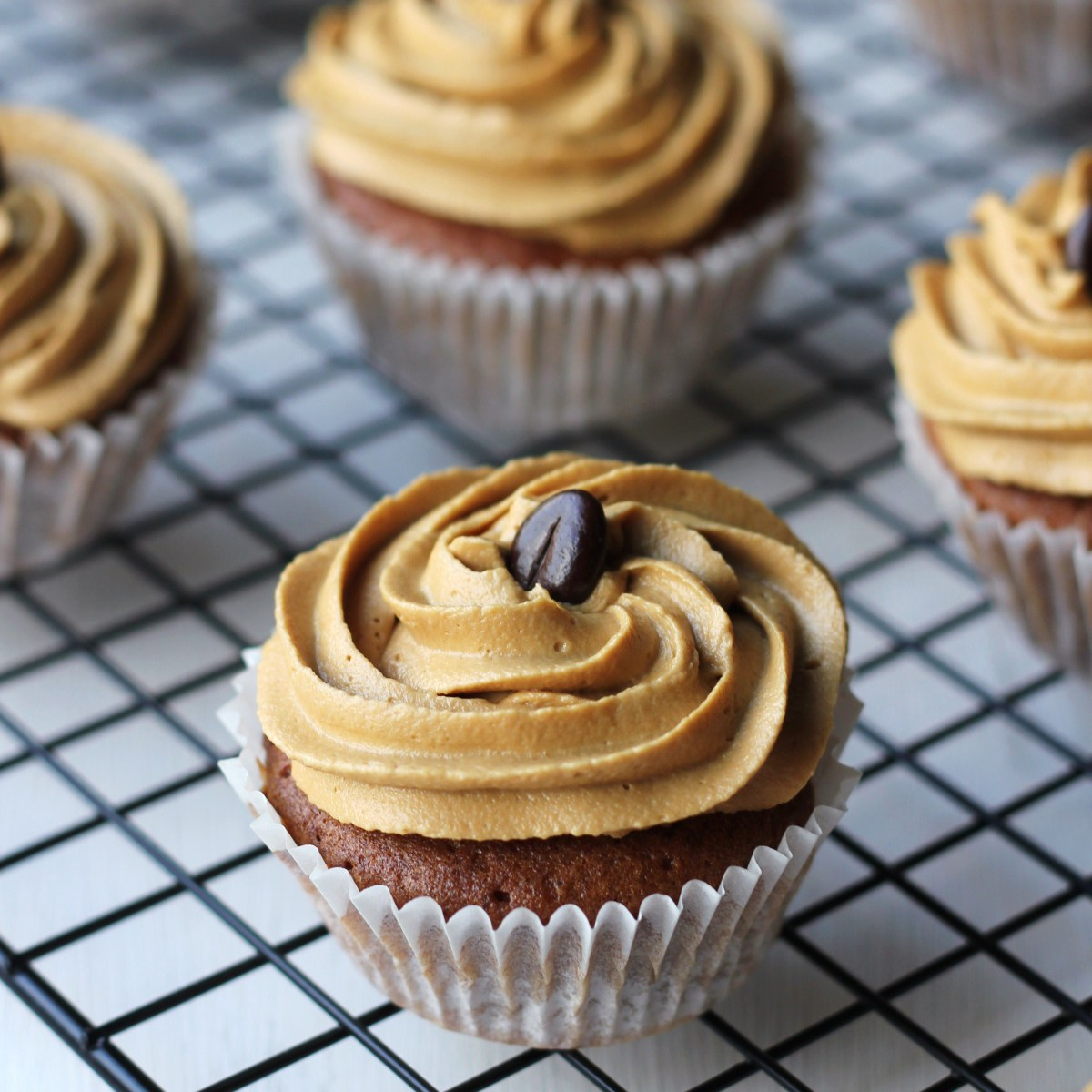 Watkins Recipe - Chocolate Coffee Cupcakes with Coffee Buttercream Frosting