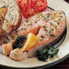 Watkins Recipe - Peppered Salmon Steaks